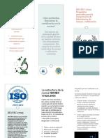 Luis Francisco Alcaraz Blancas Triptico ISO-IEC 17025