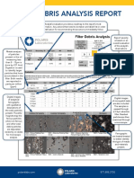 Filter Debris Analysis Report