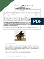 Pleyel Piano Chopin Discovered Kohler