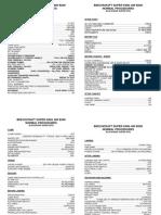 B200 Checklist