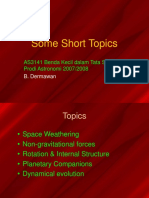 2007AS3141_short_topics.ppt