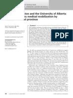 Calgary, Edmonton and the University of Alberta