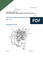 Válvula de Modulação (Embreagem Da Transmissão)