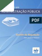 PNAP - Bacharelado - Gestao Da Regulacao