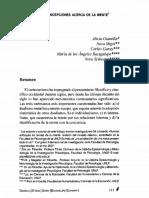 GIANELLA, Alicia, Et Al (2008) Nuevas Concepciones Acerca de La Mente