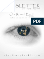 "Our Round Earth ~ part 2 ""what we can see with our own eyes"" ~  FlatEarth  ~StraitwayNewsletter 11 ( 2015 )"