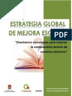 Estrategia global de mejora escolar Comprensión Lectora