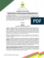 Acuerdo No. 026 de 2009 Neiva Huila