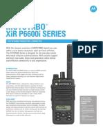 Jual HT Mototrbo Xir P6600i Series ( XiR P6600i & XiR P6620i )
