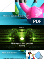User interface Quality