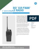 Jual HT Motorola Mototrbo XiR P3688 081323293160