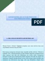Ppt Bab 4-Konsep Keprilakuan Dari Psikologi Dan Psikologi Sosial