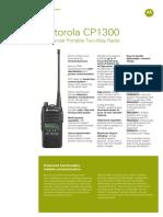 Jual HT Motorola CP1300 ( VHF & UHF )