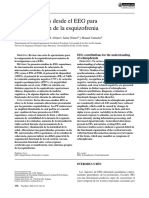 Contribuciones Desde El EEG Para La Comprensión de La Esquizofrenia