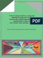 wncptool  assessing validating