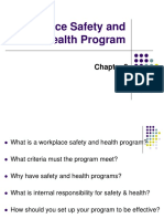 Chapter 3 Workplace Safety & Health Program