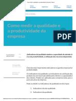 Como Medir a Qualidade e a Produtividade Da Empresa _ Sebrae