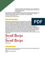 SECRET RECIOE ASSIGNMENT 2.docx