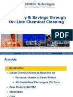 SENTRO Technologies Online Chemical Cleaning Presentation