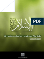 40 Hadices Sobre Las Virtudes de Abu Bakr