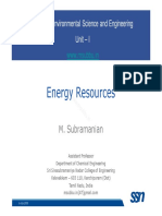 EVS Lecture I 3 EnergyResources