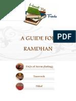 A Guide for Ramadhan Hanafi