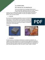 Revision de La Literatura Geologia