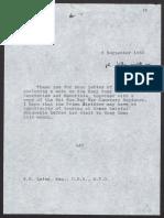 Hong Kong War Memorials and Cemeteries Minutes for UK PM Margaret Thatcher 820906 No.10 Min PREM19-0788 f153