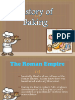 History of Baking and Basic Ingredients