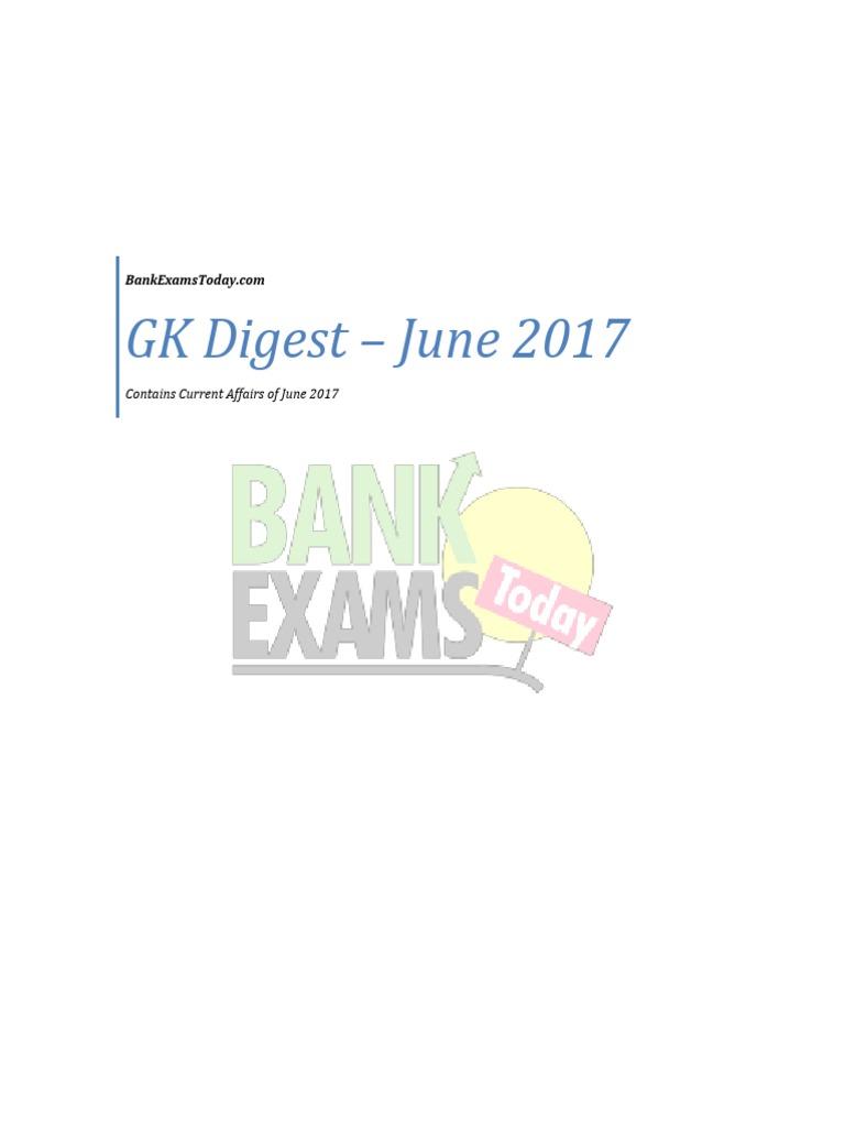 GK Digest June 2017   Finance (General)   Business