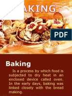 Baking and Baking Terms