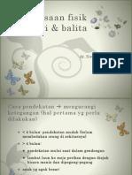 Pemeriksaan Fisik Bayi & Balita