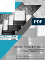 Commodities Journal Daily Reports-2nd November 2017, Thursday