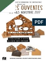 Portes ouvertes de l'éco-construction en Centre Bretagne