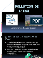 Pages de La Pollution de L Eau