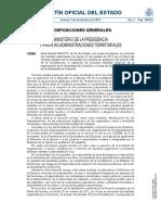 El Gobierno publica en el BOE el real decreto de supresión de las instituciones de la independencia