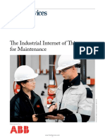 Industrial Internet of Things for Maintenance