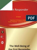 First Responder (Ali Haedar)