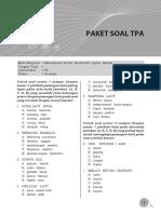 Soal CPNS Paket 7