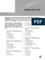 Soal CPNS Paket 9