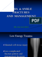 QIUP Lecture 9 Tibia & Ankle Fractures