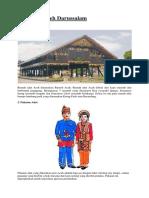 kebudayaan Nanggroe Aceh Darussalam, Sumatra utara, Jawa barat