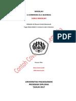 Tugas Makalah E-Commerce Dan E-Business