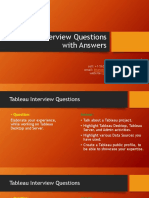 Tableau Questions With Answers