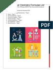 High School/ JC Chemistry Formulae List 2018