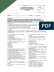 Control de Lectura 1- Forma 1