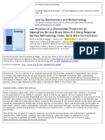 Optimization of β Glucosidase Production by Aspergillus Terreus Strain Emoo 6 4 Using Response Surface Methodology Under Solid State Fermentation
