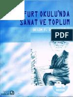 Besim F. Dellaloğlu - Frankfurt Okulunda Sanat Ve Toplum - Bağlam 2B