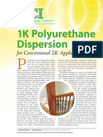 1K Polyurethane Dispersion for Conventional 2K - Lubrizol