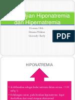 Hiponatremia Dan Hipernatremia